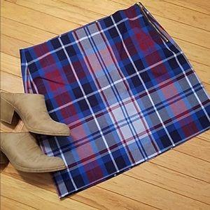 Tommy Hilfiger Plaid Skirt